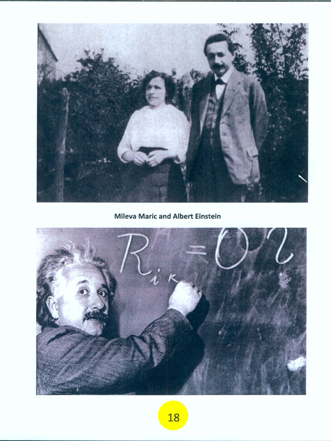 New Book By Dr Ljubo Vujovic Albert Einstein And Mileva
