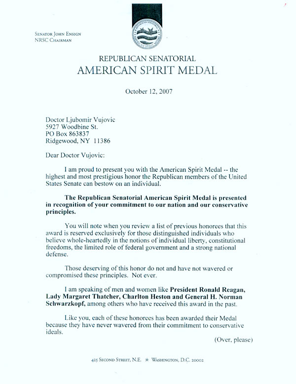 Letterg letter from senator john ensign thecheapjerseys Image collections