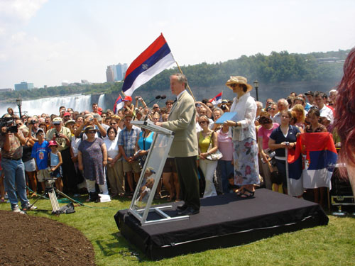 Unveiling Ceremony at Victoria Park